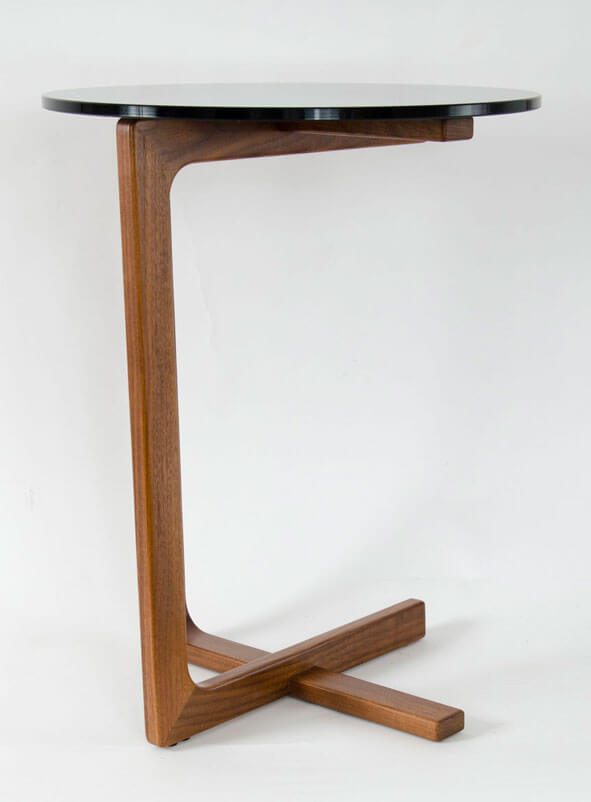 PEASANT SIDE TABLE - WALNUT